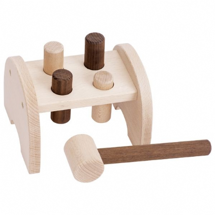 Natural Wood Hammer Bench by Goki